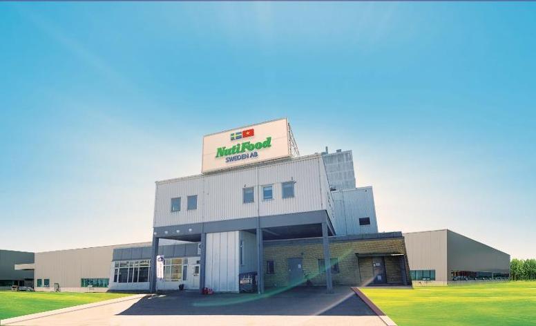 Nhà máy sản xuất sản phẩm organic theo tiêu chuẩn châu Âu tại Thụy Điển của NutiFood