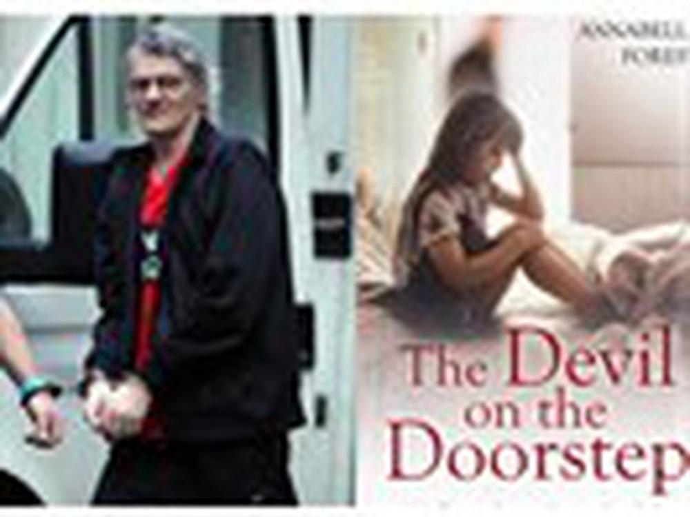 Kẻ biến thái Colin Batley (trái) và bìa cuốn hồi ký của Forest. Ảnh: The Mirror