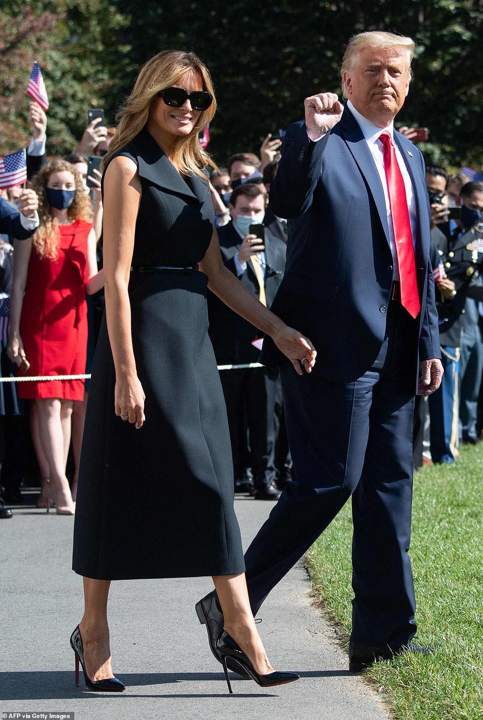 Đệ nhất phu nhân Melania Trump lần đầu tiên tự mình vận động tranh cử cho chồng, Tổng thống Donald Trump