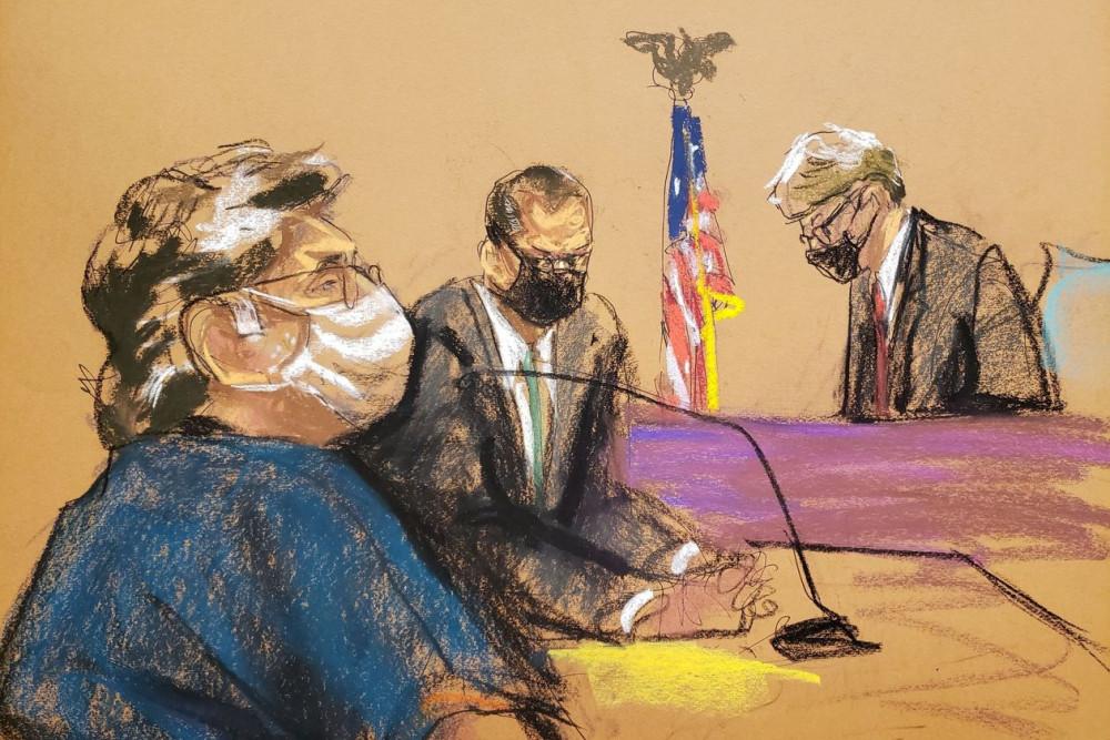 Các thẩm phán đang luận tội tại phiên tòa - Ảnh: JANE ROSENBERG/REUTERS