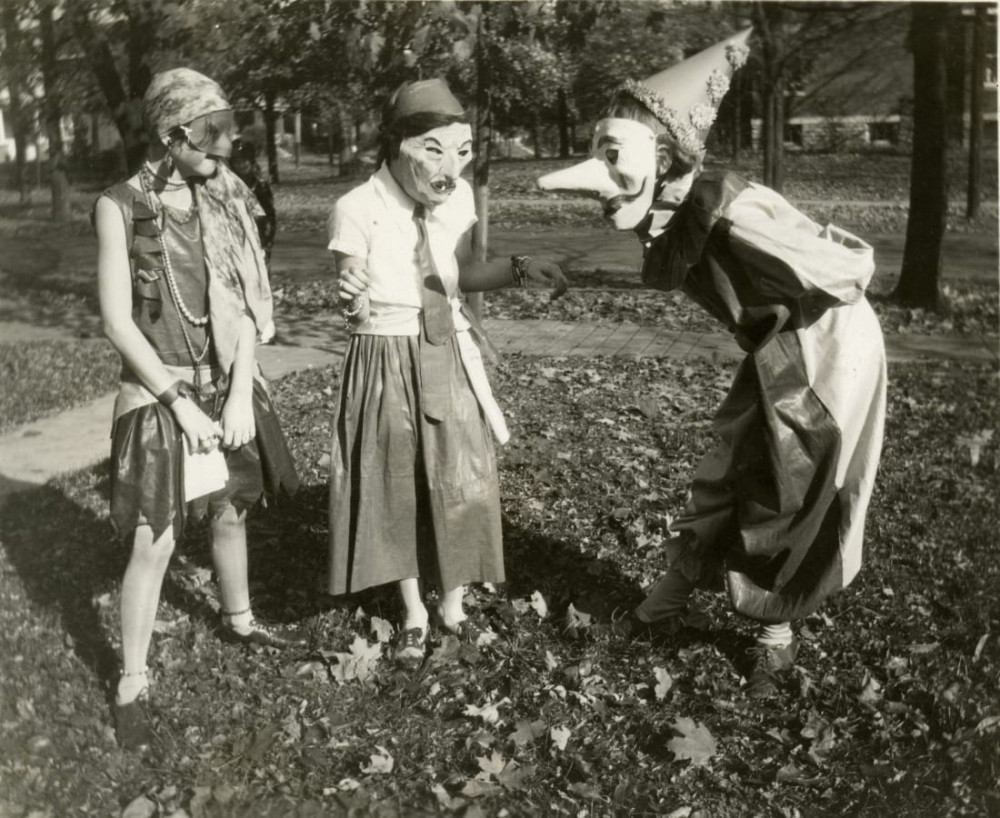 Một bức ảnh được chụp vào năm 1929 tại bang Ohio