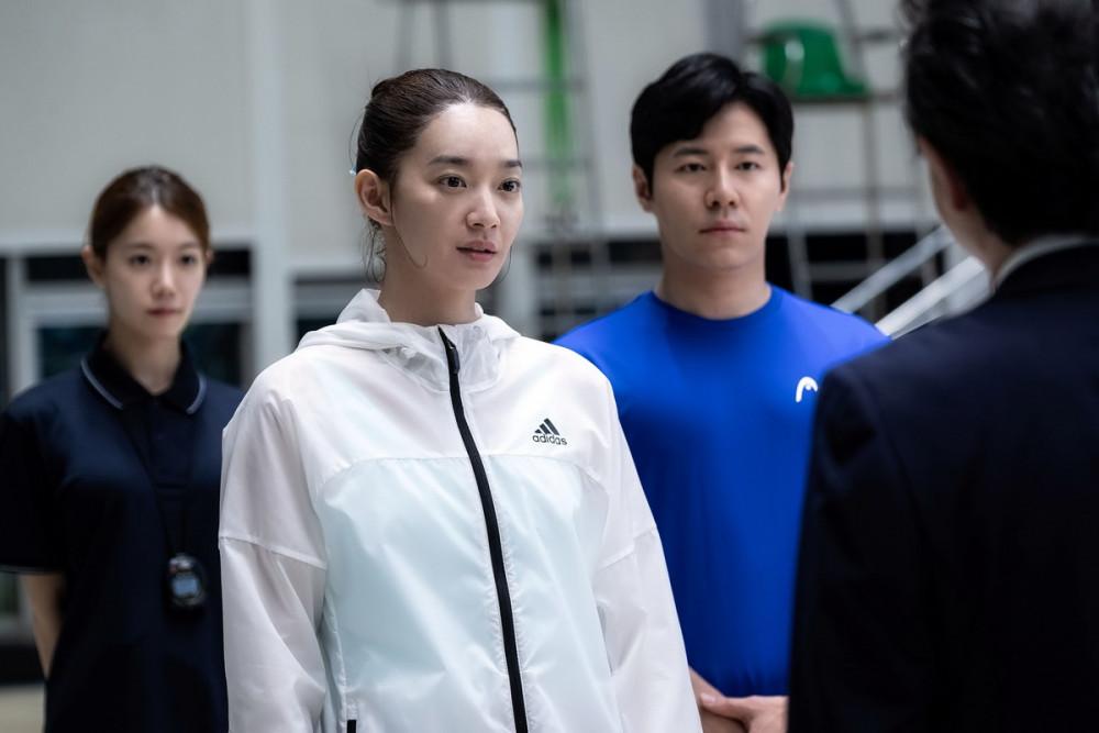 Shin Min A trên phim là nữ vận động viên có thành tích xuất sắc.