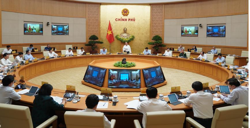 Hội nghị khai mạc sáng 29/10 dưới sự chủ trì của Thủ tướng Nguyễn Xuân Phúc
