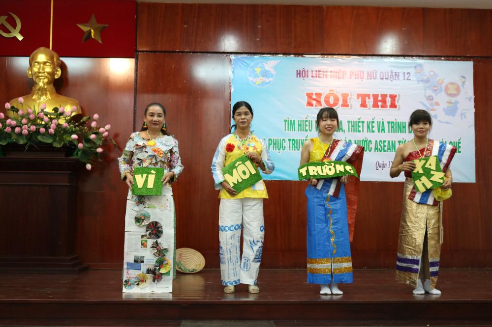 Hội thi nhằm truyền tải thông điệp hãy chung tay vì môi trường xanh.