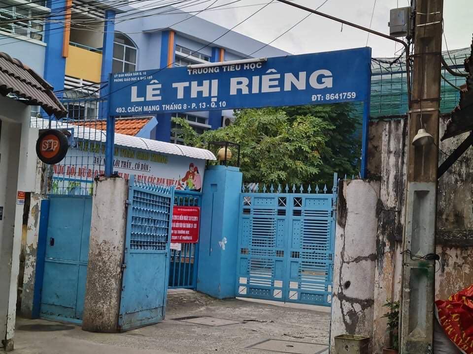 Giáo viên Trường tiểu học Lê Thị Riêng phản ảnh