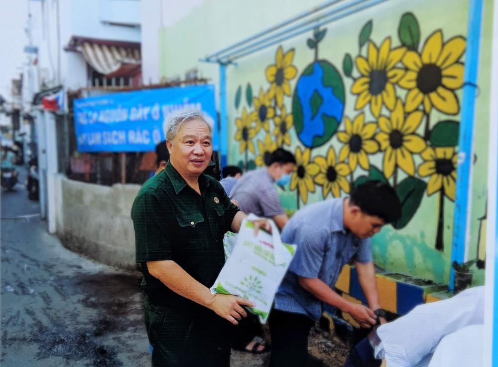 Ông Nguyễn Thanh Tuấn – Chủ tịch Hội Cựu chiến binh phường 14, quận 4 – gương điển hình Dân vận khéo cấp thành phố năm 2018, 2019