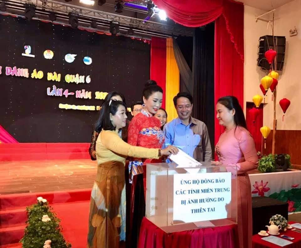 Tại hội thi, Ban tổ chức đã phát động ủng hộ đồng Bào Miền Trung bị ảnh hưởng lũ lụt.