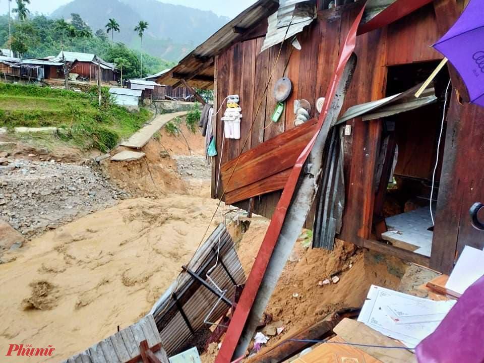 Ở xã Phước Thành, có 41 ngôi nhà đã bị cuốn trôi hoàn toàn