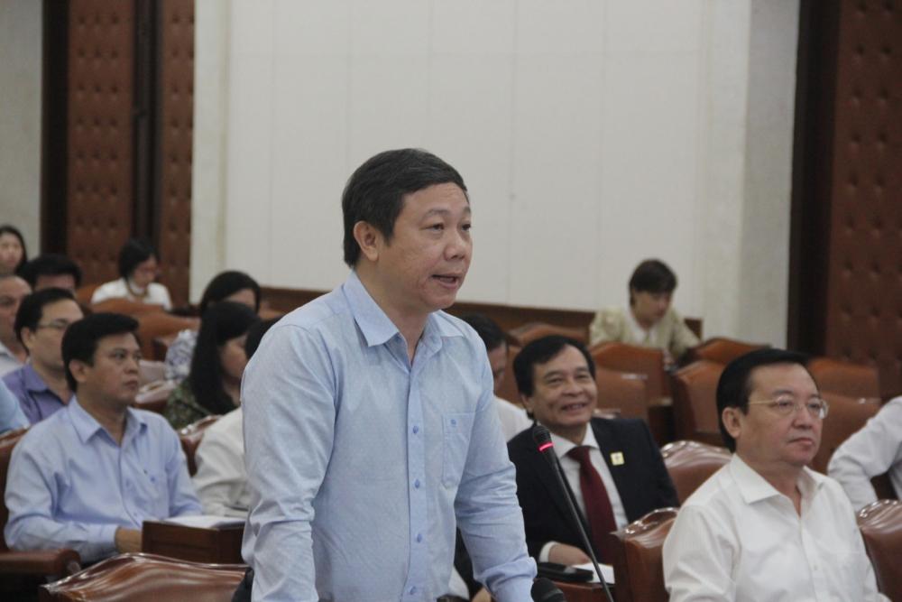 Phó Chủ tịch UBND TP.HCM Dương Anh Đức phát biểu tại hội nghị