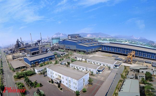 Nhà máy thép Hòa Phát Dung Quất