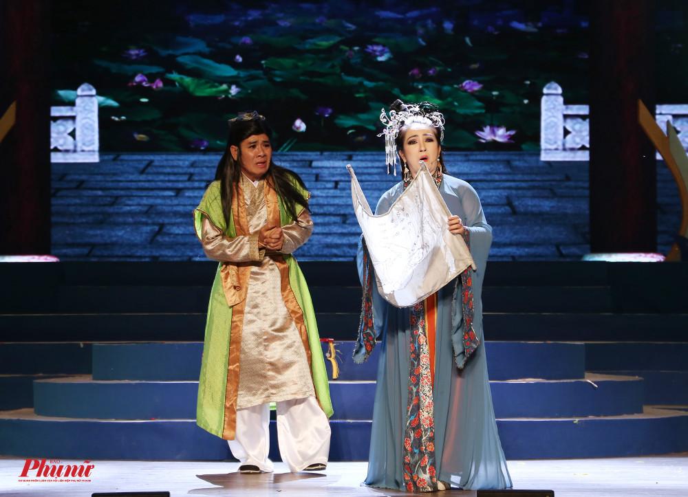 Nghệ sĩ Linh Trung thể hiện vai Bùi Kiệm trong đêm trao giải