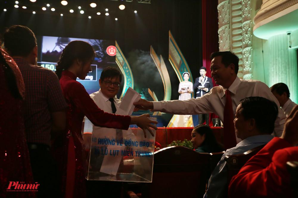BTC tổ chức quyên góp cứu trợ miền Trung