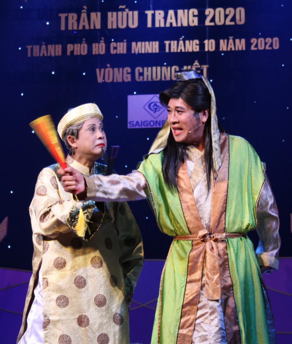 """Không nhiều nghệ sĩ  có khả năng """"tự biên tự diễn"""" như nhệ sĩ Linh Trung"""