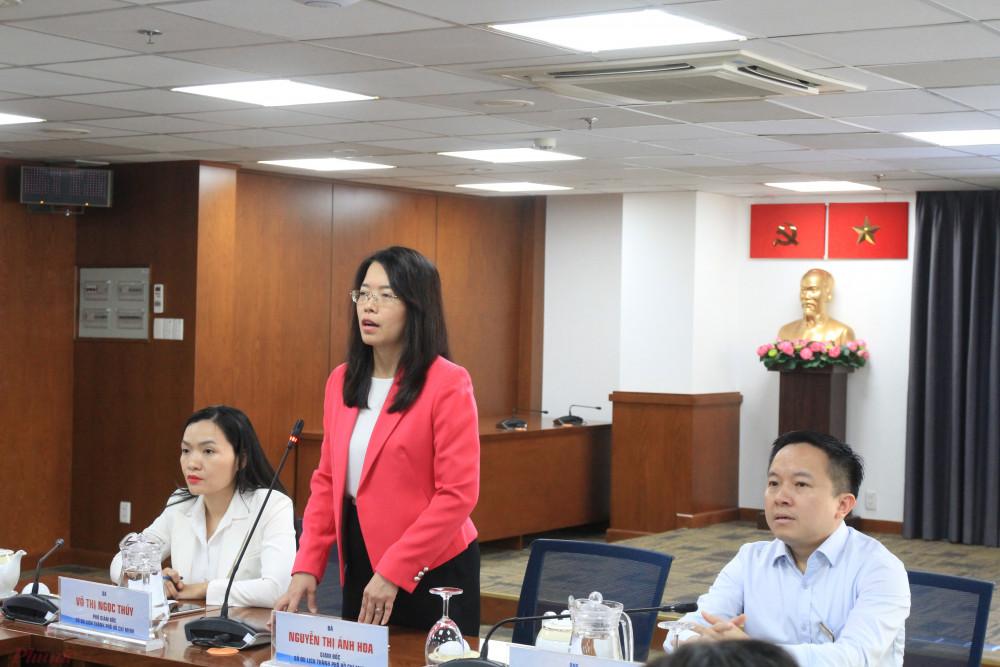 Sở Du lịch TPHCM phối hợp với Sở Thông tin - Truyền thông tổ chức họp báo về chương trình liên kết du lịch TPHCM và các tỉnh miền Bắc, Trung Bộ. Ảnh: Quốc Thái