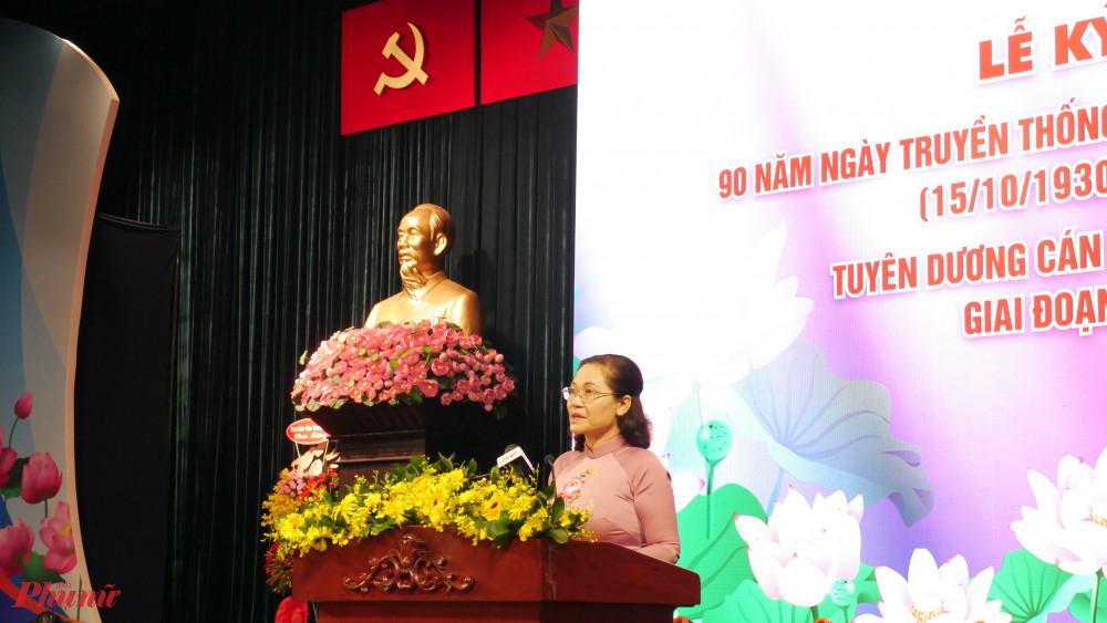 Chủ tịch HĐND TPHCM Nguyễn Thị Lệ Phong trào thi đua Dân vận khéo, công tác dân vận ở TP tiếp tục có nhiều chuyển biến tích cực