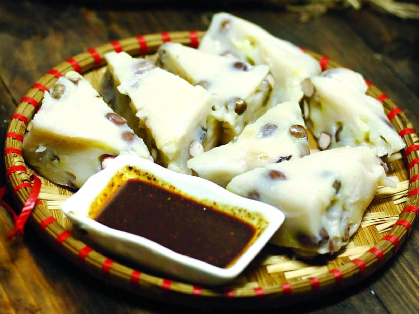 Bánh đúc lạc chấm tương bần - món ngon nổi tiếng của miền Bắc