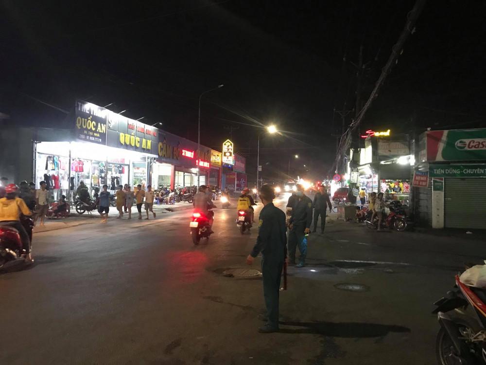 Con đường Võ Thị Sáu bị phong toả