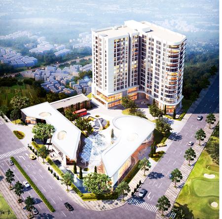 Phối cảnh Dự án Khu thương mại và dịch vụ khách sạn Đông Hải được nhắc đến trong kết luận thanh tra.
