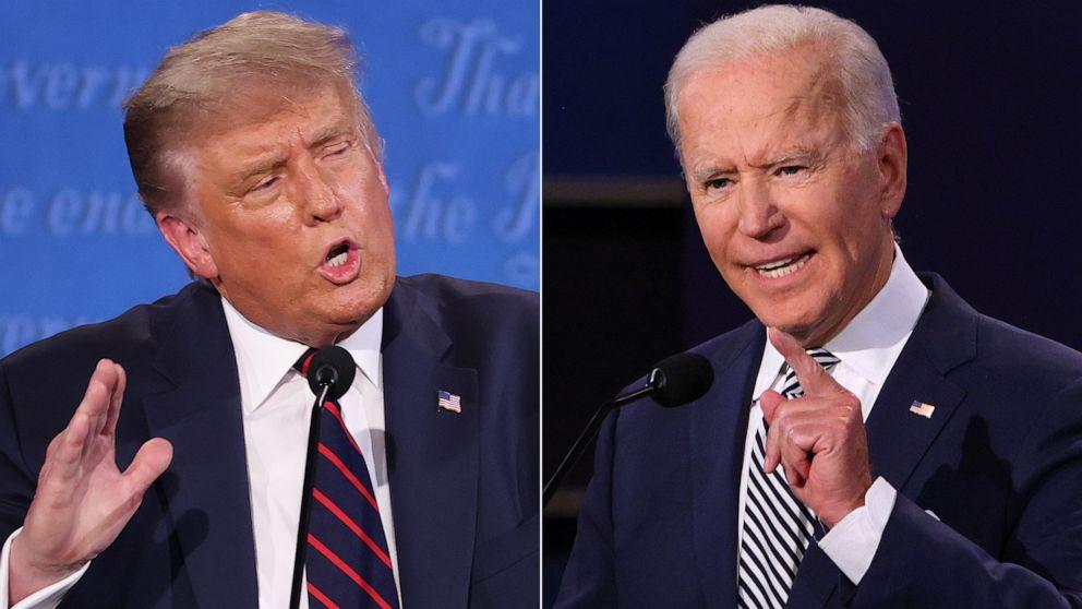 Tổng thống Donald Trump và ông Joe Biden chiến đấu quyết liệt trong cuộc đua vào Nhà Trắng.