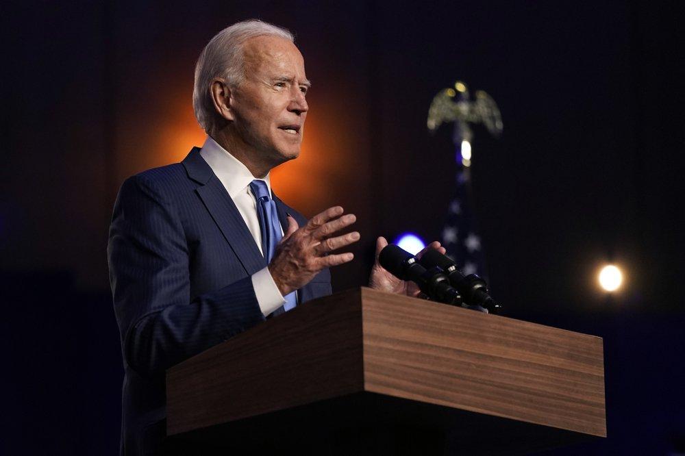 Ông Biden đã có cú lội ngược dòng tại những bang quan trọng để giành chiến thắng.