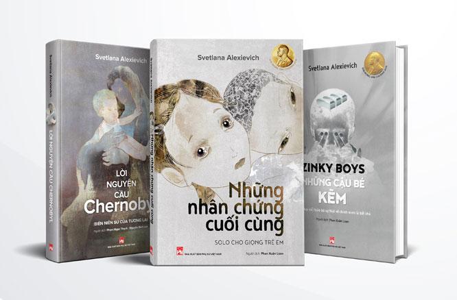 3 quyển sách của tác giả được bán đầu giá gây quỹ