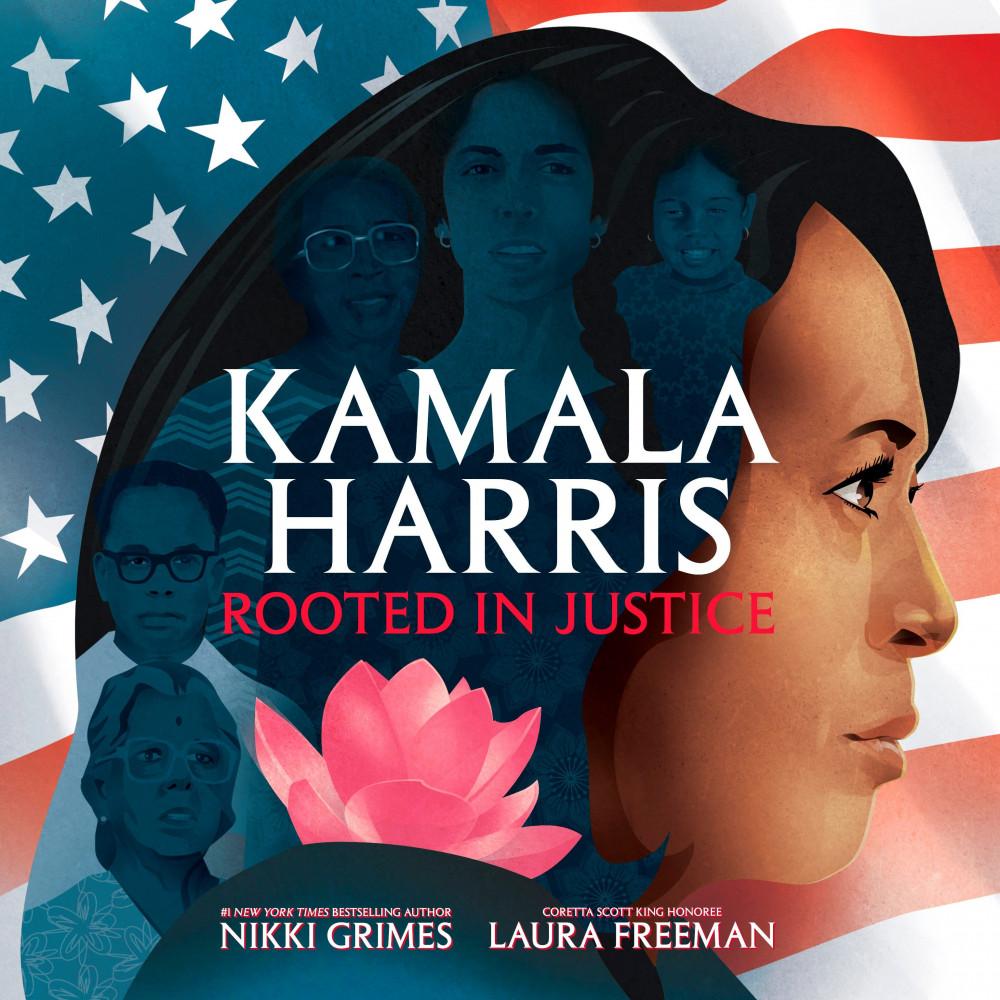Cuốn Kamala Harris: Rooted in justice viết về cuộc đời và những thành tựu của bà