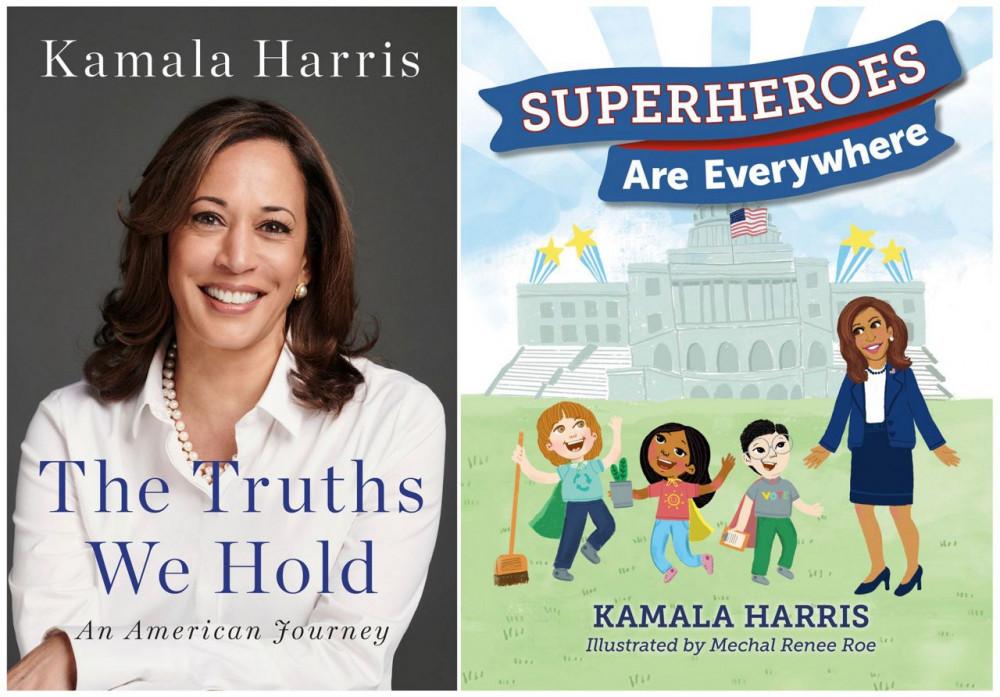 2 cuốn sách do bà Kamala Harris viết, xuất bản đầu năm 2019, được tìm mua trở lại.