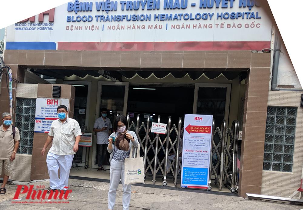 Bệnh viện Truyền máu Huyết học TPHCM