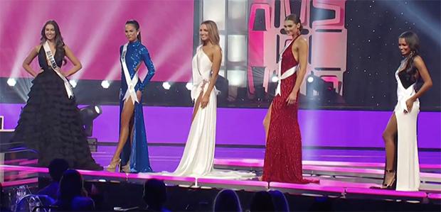 Top 5 Hoa hậu Mỹ 2020