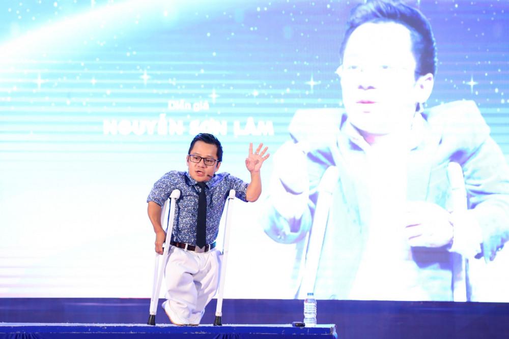 Nguyễn Sơn Lâm trở thành nhân vật truyền cảm hứng cho nhiều người (ảnh nhân vật cung cấp)