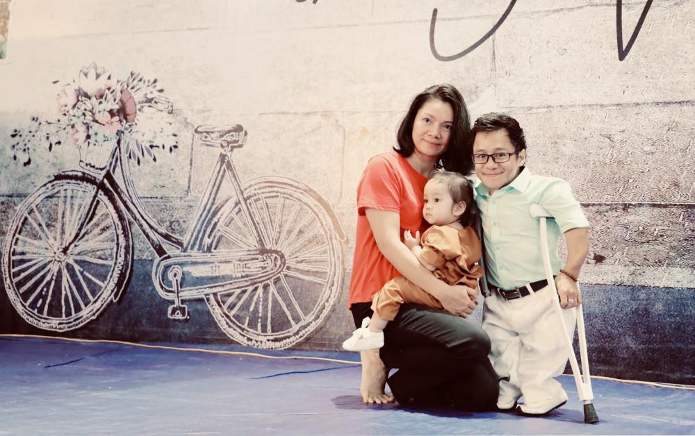 Gia đình hạnh phúc của diễn giả Nguyễn Sơn Lâm (ảnh nhân vật cung cấp)