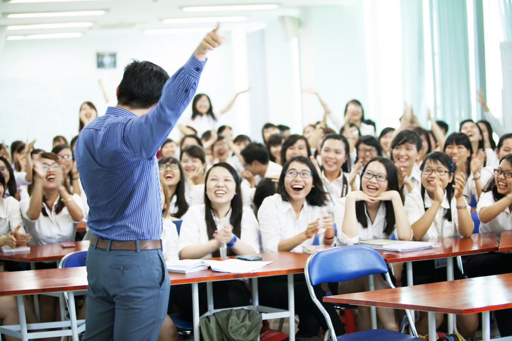 Sinh viên Trường đại học Kinh tế - Luật thuộc Đại học Quốc gia TP.HCM một trong những trường sẽ chuyển sang cơ chế tự chủ