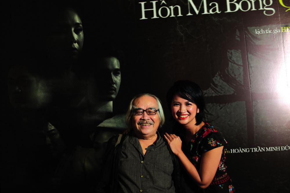 Cùng nghệ sĩ nhân dân  Trần Minh Ngọc -  một người thầy đáng kính