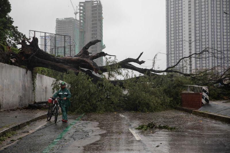 Khi bão Vamco đi qua - Ảnh: Getty Images
