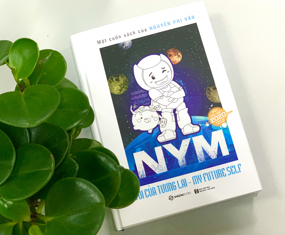 Cuốn NYM - Tôi của tương lai của tác giả Nguyễn Phi Vân.