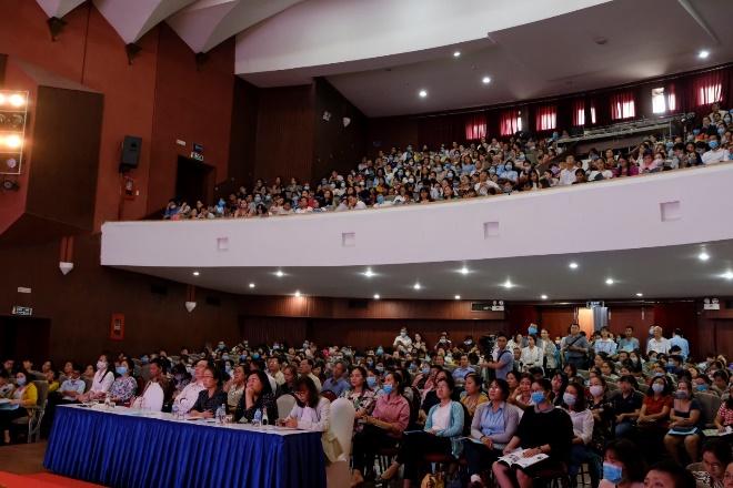 Hội nghị thu hút sự quan tâm tham dự của đại diện 435 trường tiểu học bán trú tại TP.HCM. Ảnh: Ajinomoto cung cấp