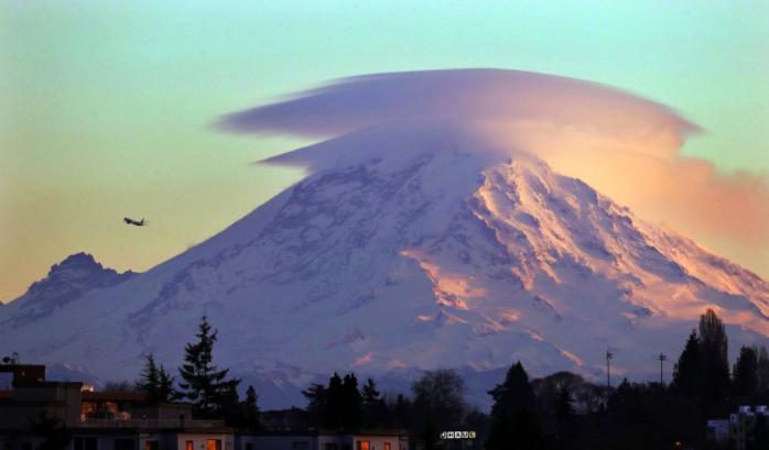Ngọn núi tuyết nơi Michael Knapinski bị lạc mất sau một đêm
