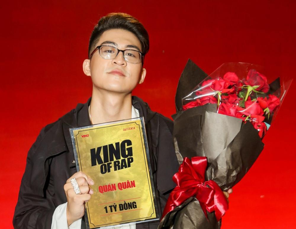 Rapper ICD giành chiến thắng chương trình King of rap.