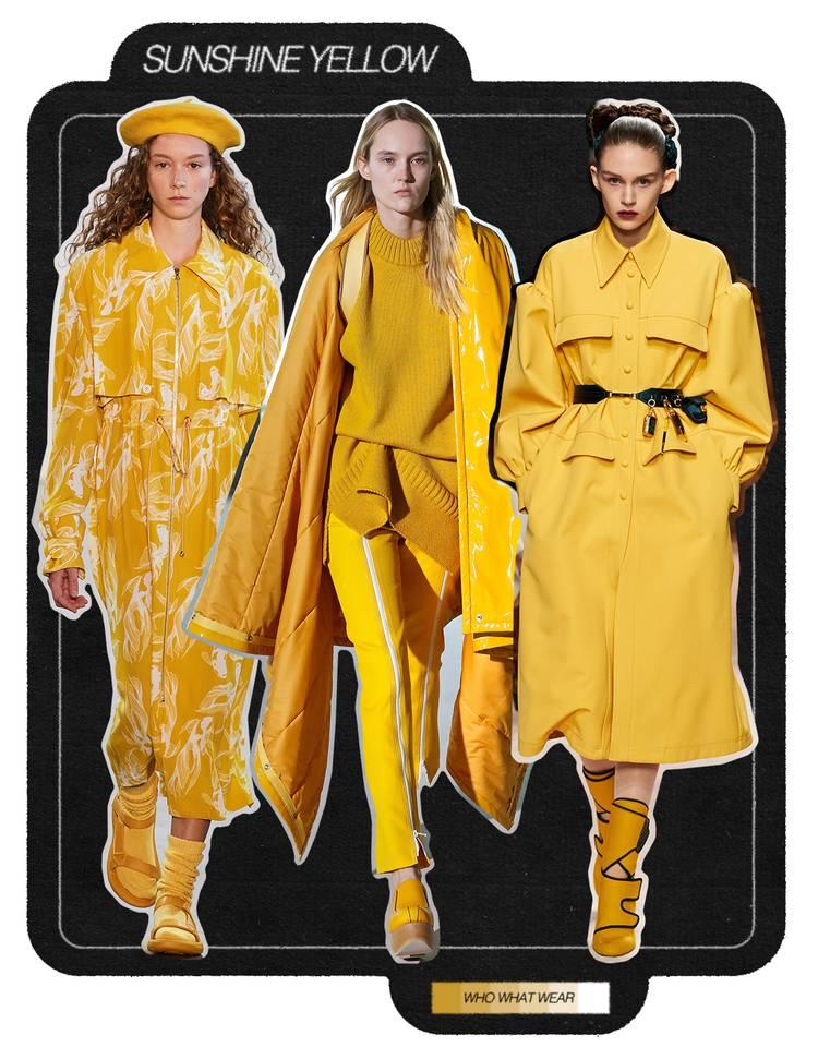3. Màu vàng: