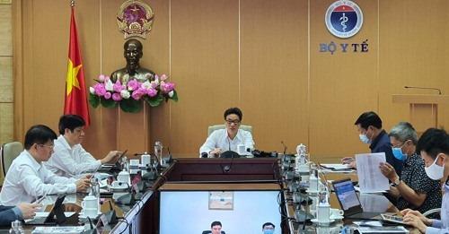 Phó Thủ tướng Vũ Đức Đam gợi ý in quốc kỳ lên khẩu trang tại cuộc họp Ban chỉ đạo Quốc gia Phòng, chống dịch mới đây
