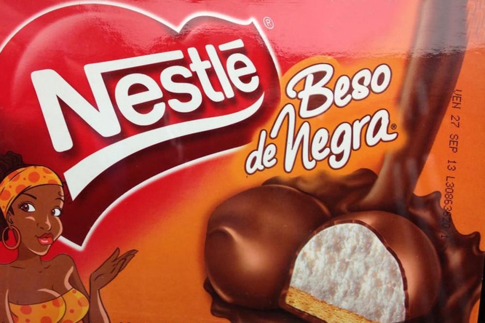 """kẹo dẻo Beso de Negra – nghĩa là """"Nụ hôn từ một người phụ nữ da đen"""", trong tiếng Tây Ban Nha"""