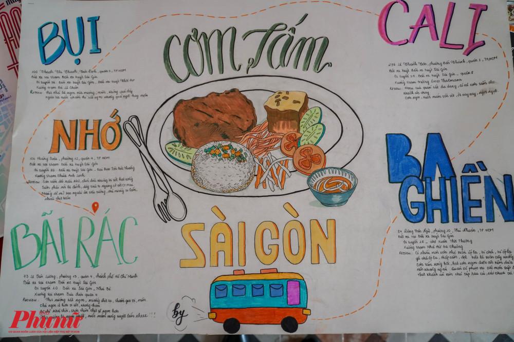 Sản phẩm trong buổi lễ báo cáo dự án SaiGon By Bus xoay quanh các chủ đề lịch sử, ẩm thực và văn hóa Sài Gòn từ xưa đến nay