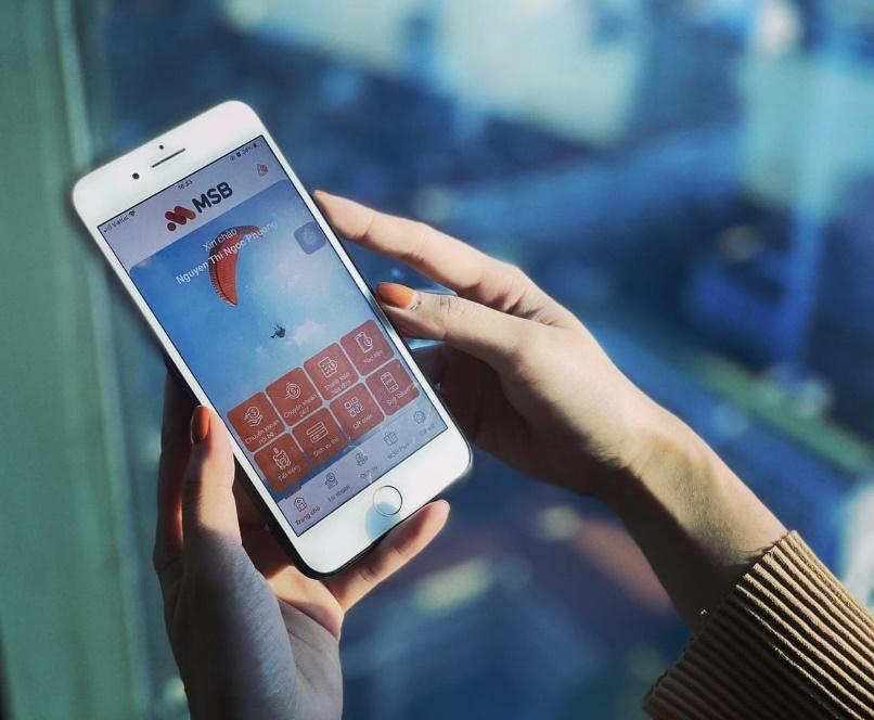 Khách hàng mở tài khoản trực tuyến trong 1 phút qua ứng dụng MSB mBank