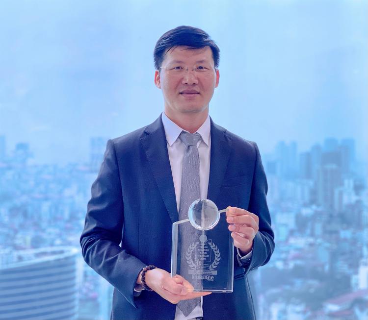 Ông Nguyễn Thế Minh, Tổng giám đốc ngân hàng doanh nghiệp. Ảnh: MSB cung cấp