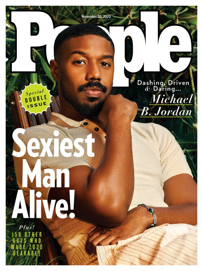 Bìa tạp chí People vừa công bố với gương mặt ảnh bìa là Michael B. Jordan