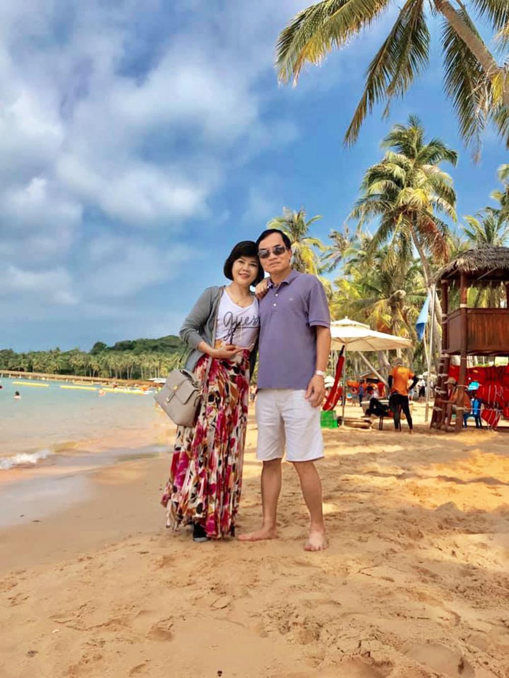 Vợ chồng thầy Nguyễn Văn Anh