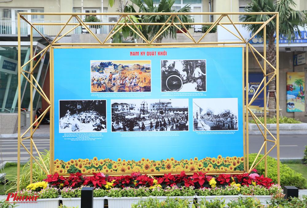 Triển lãm diễn ra tại 3 địa điểm: công viên Lam Sơn, đường Đồng Khởi (khu phía trước Sở Văn hoá - Thể thao và đối diện công viên Chi Lăng), với tổng cộng 200 bức ảnh được trưng bày.
