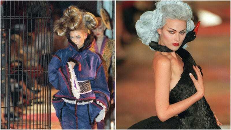 Năm 1997, bộ sưu tập mùa thu Enfant Terrible của Givenchy gây thú hút bởi sự xuất hiện của các người mẫu được tạo hình độc lạ từ mái tóc đến trang điểm. Đây cũng là một trong những lần cuối cùng Công nương Diana tham dự một buổi trình diễn.