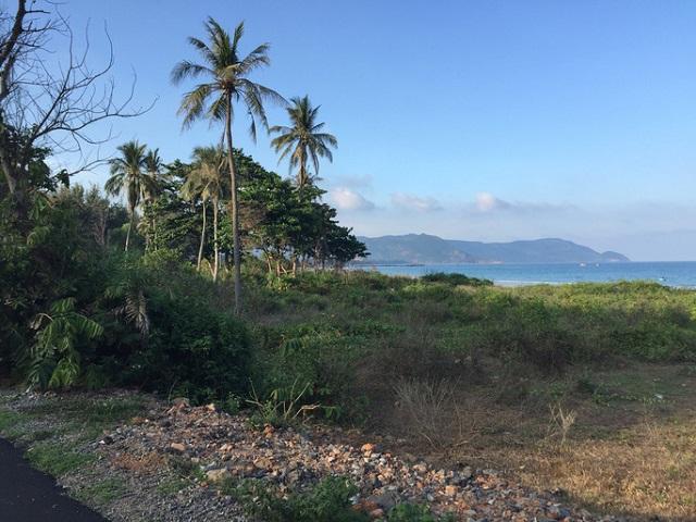 Một góc khu đất tại huyện Côn Đảo, tỉnh Bà Rịa - Vũng Tàu