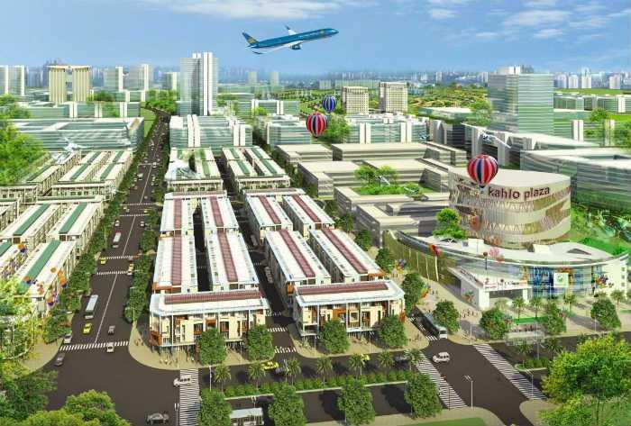 Phối cảnh dự án khu dân cư An Phước bị Bộ Công an yêu cầu